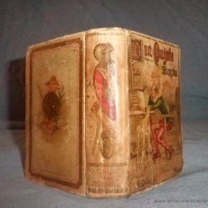 Libros antiguos: DON QUIJOTE DE LA MANCHA - 1ª EDICION MICROSCOPICA - AÑO 1900 - EXCEPCIONAL.. Lote 53729644