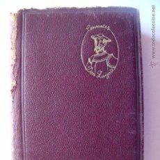 Libros antiguos: MIGUEL DE CERVANTES.-DON QUIJOTE DE LA MANCHA.-AGUILAR.-MADRID.-AÑO 1939.. Lote 53744133