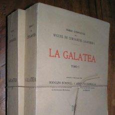 Libros antiguos: CERVANTES: LA GALATEA. 2 VOLS. 1914. Lote 53828969