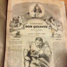 Libros antiguos: LIBRO DON QUIJOTE DE LA MANCHA Y EL BUSCAPIE.CERVANTES.BIBLIOTECA UNIVERSAL. Lote 53985009