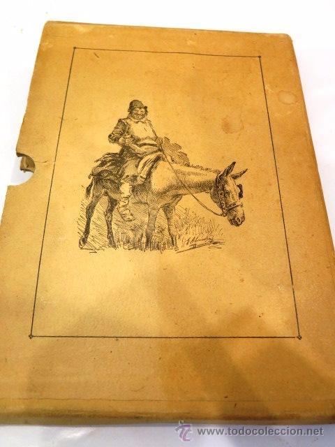 Libros antiguos: Cervantes y El Quijote. Tipografía de la revista de archivos, bibliot. y museos. Año 1905 - Foto 3 - 54116366
