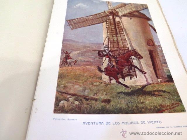 Libros antiguos: Cervantes y El Quijote. Tipografía de la revista de archivos, bibliot. y museos. Año 1905 - Foto 6 - 54116366