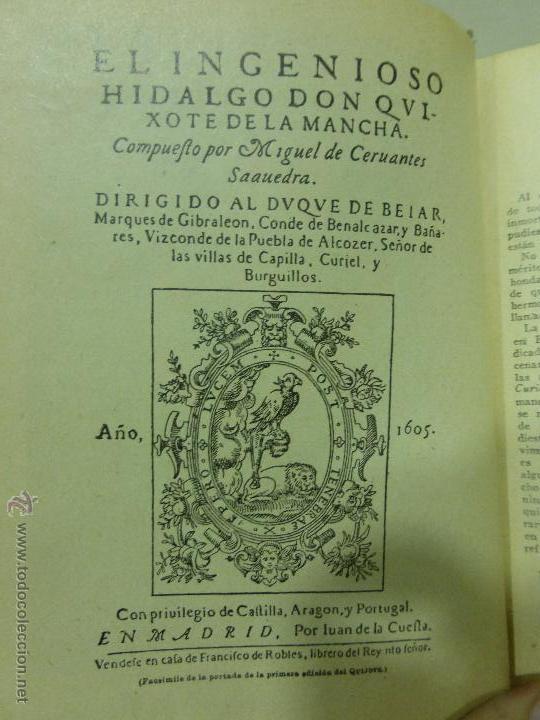 Libros antiguos: DON QUIJOTE DE LA MANCHA (1.905) de Miguel de Cervantes. Editorial Saturnino Calleja - Foto 2 - 54294745