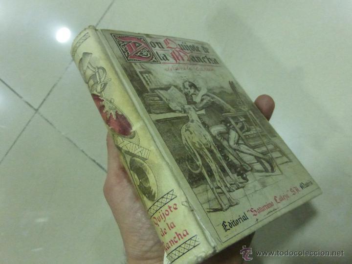 Libros antiguos: DON QUIJOTE DE LA MANCHA (1.905) de Miguel de Cervantes. Editorial Saturnino Calleja - Foto 3 - 54294745