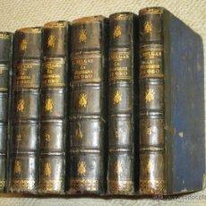 Libros antiguos: LA MANZANA DE ORO, DE JOSÉ SELGAS, SEIS TOMOS 1872, LORCA, MURCIA. Lote 54447380