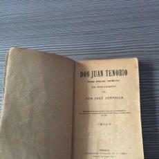 Libros antiguos: DON JUAN TENORIO. Lote 54539629