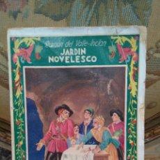 Libros antiguos: JARDÍN NOVELESCO, DE RAMÓN DEL VALLE-INCLÁN.. Lote 54678221