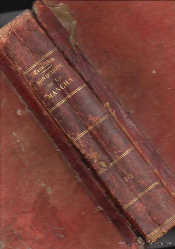 CERVANTES : DON QUIJOTE DE LA MANCHA (MANERO, 1882) (Libros antiguos (hasta 1936), raros y curiosos - Literatura - Narrativa - Clásicos)