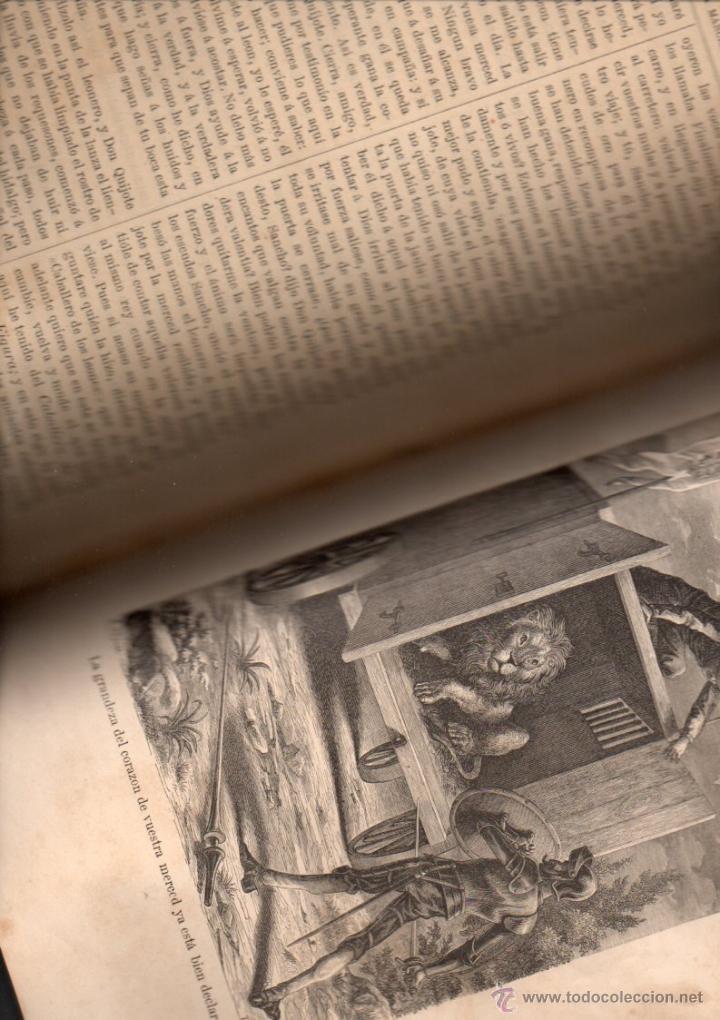 Libros antiguos: CERVANTES : DON QUIJOTE DE LA MANCHA (MANERO, 1882) - Foto 4 - 54764451