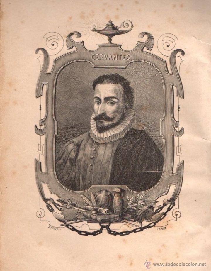 Libros antiguos: CERVANTES : DON QUIJOTE DE LA MANCHA (MANERO, 1882) - Foto 5 - 54764451