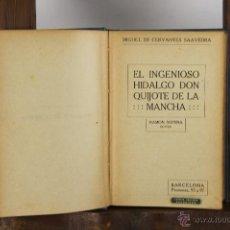 Libros antiguos: 5586- EL INGENIOSO HIDALGO DON QUIJOTE DE LA MANCHA. CERVENTES. EDIT. SOPENA.. Lote 46071845