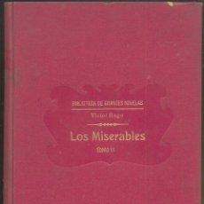 Libros antiguos: LOS MISERABLES.- VICTOR HUGO.- TOMO 2 - ED. SOPENA 1935. Lote 205182036