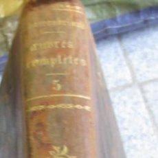 Libros antiguos: OEUVRES COMPLÈTES DE M. LE VICOMTE DE CHATEAUBRIAND TOMO 5 EDIT FURNE CHARLES GOSSELIN AÑO 1836 . Lote 55069628