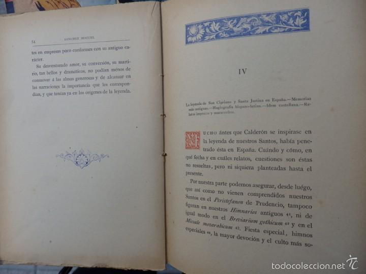 Libros antiguos: Memoria acerca de El Mágico Prodigioso de Calderón........1881, 212 PAGINAS - Foto 3 - 55912495