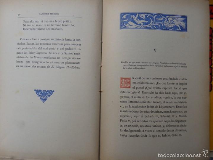 Libros antiguos: Memoria acerca de El Mágico Prodigioso de Calderón........1881, 212 PAGINAS - Foto 4 - 55912495