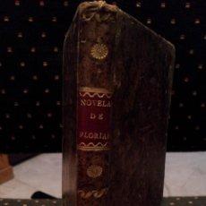 Libros antiguos: NOVELAS NUEVAS. 1800. Lote 55914683