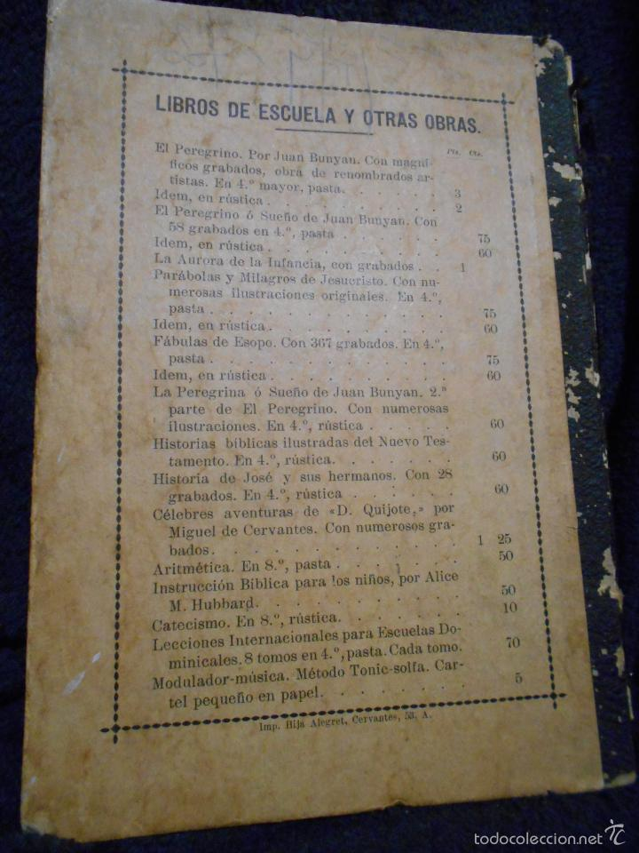 Libros antiguos: Fábulas de Esopo. Depósito de la Sociedad Española de Tratados Religiosos y Libros. Figueras, 1912 - Foto 2 - 56243696