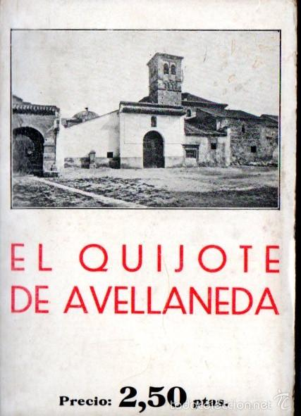 AVELLANEDA : EL QUIJOTE (BERGUA, 1934) (Libros antiguos (hasta 1936), raros y curiosos - Literatura - Narrativa - Clásicos)