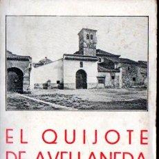 Libros antiguos: AVELLANEDA : EL QUIJOTE (BERGUA, 1934). Lote 166088392