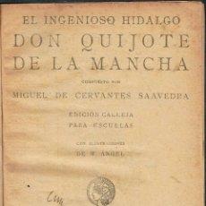 Alte Bücher - Don Quijote de la Mancha. - Miguel de Cervantes. - 56363171