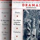 Libros antiguos: SHAKESPEARE : DRAMAS - DOS TOMOS (IBERIA, 1933) GRAN FORMATO - ILUSTRADOS. Lote 56459457