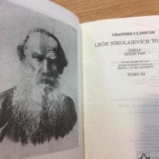 Libros antiguos: GRANDES CLÁSICOS TOMO III. Lote 56697151