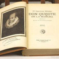 Libros antiguos: 7504 - EL INGENIOSO HIDALGO DON QUIJOTE DE LA MANCHA. M. CERVANTES. EDI. S. CALLEJA. 1937.. Lote 56715253