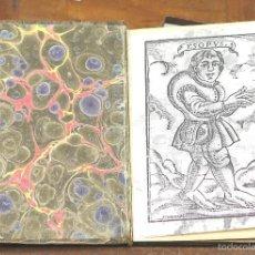 Libros antiguos: LP-238 - FABULAS DE ESOPO. SIGLO XIX. VER DESCRIPCIÓN.. Lote 56738344