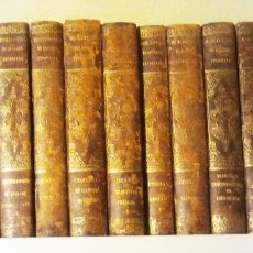 Libros antiguos: 20 TOMOS BIBLIOTECA DE AUTORES ESPAÑOLES. AÑOS 1850 .VER IMAGEN 1ªPÁGINA. -VELL I BELL.. Lote 56904544