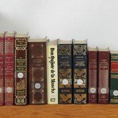 Libros antiguos: 7585. COLECCION DE 20 EDICIONES DE DON QUIJOTE DE LA MANCHA. CERVANTES. 1980-1989. . Lote 57207786