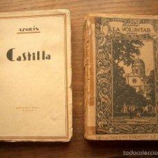 Libros antiguos: LOTE DE DOS LIBROS DE AZORÍN. Lote 57281382