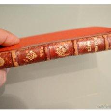 Libros antiguos: EL GRANDE ORIENTE 1888 BENITO PEREZ GALDOS EPISODIOS NACIONALES EDICION LUJO TAPA DURA LOMO EN PIEL. Lote 142183205