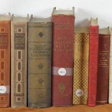 Libros antiguos: 7608- COLECCION DE 15 EDICIONES DEL QUIJOTE. MIGUEL DE CERVANTES. 1916-1959. . Lote 57319322