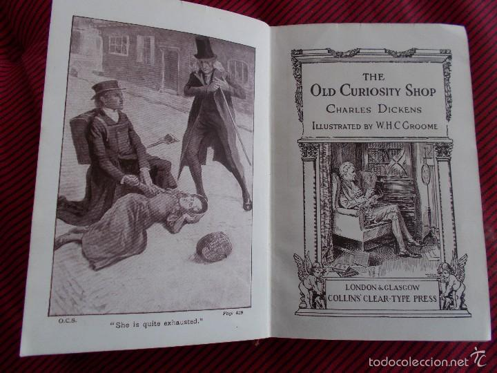 Libros antiguos: THE OLD CURIOSITY SHOP, DE CHARLES DICKENS ANTERIOR A 1.920 - Foto 1 - 57426682