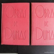 Libros antiguos: OBRAS DE ALEJANDRO DUMAS. LOS TRES MOSQUETEROS. DOS TOMOS. 1932. ED. ALHAMBRA. Lote 233361350
