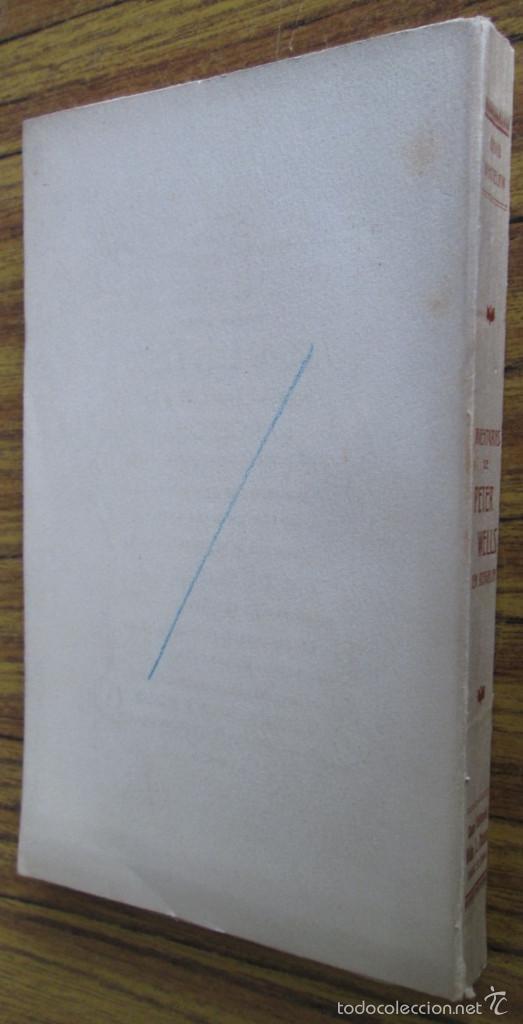 Libros antiguos: AVENTURAS DE PETER WELLS - En Bragalia - Por David Whitelaw 1914 - Foto 2 - 57536150