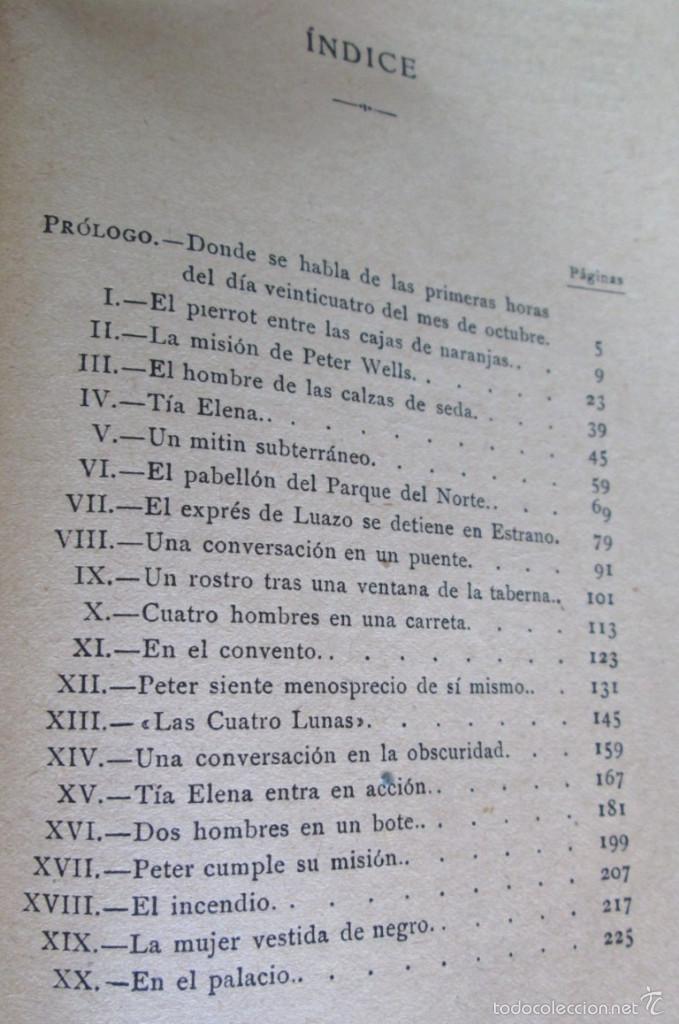 Libros antiguos: AVENTURAS DE PETER WELLS - En Bragalia - Por David Whitelaw 1914 - Foto 3 - 57536150