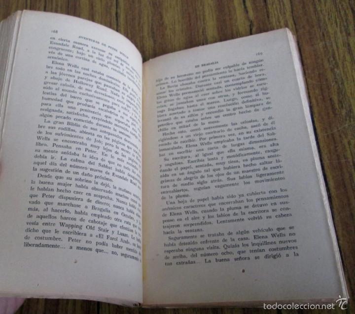 Libros antiguos: AVENTURAS DE PETER WELLS - En Bragalia - Por David Whitelaw 1914 - Foto 6 - 57536150