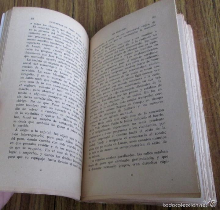 Libros antiguos: AVENTURAS DE PETER WELLS - En Bragalia - Por David Whitelaw 1914 - Foto 7 - 57536150