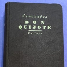 Old books - El ingenioso Hidalgo Don Quijote de la Mancha - Cervantes - Edit. Calleja (Aldus - Santander) - 57652159
