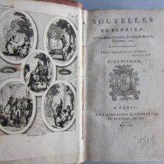 Libros antiguos: 1801-NOTICIAS OBRAS DE FRANCIA,ALEMANIA,ESPAÑA.CELESTINA.OTROS. 2 GRABADOS.OBRAS DE FLORIÁN.ORIGINAL. Lote 57920195