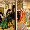 Libros antiguos: CERVANTES : NOVELAS EJEMPLARES - DOS TOMOS (SOPENA, 1933). Lote 132095430