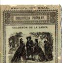 Libros antiguos: CALDERÓN DE LA BARCA : MAÑANAS DE ABRIL Y MAYO - MISERERES (MANERO. S/F). Lote 57944286