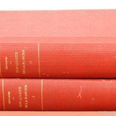Libros antiguos - 7773 - DON QUIJOTE DE LA MANCHA. TOMOS I Y II(VER DESCRIP). CERVANTES. EDIT. CALLEJA. 1927. - 57992210