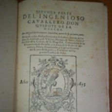 Libros antiguos: MIGUEL DE CERVANTES. EL INGENIOSO HIDALGO DON QUIJOTE. MONTANER Y SIMÓN. 1897.FACSIMIL,TOMO 2. Lote 58088756