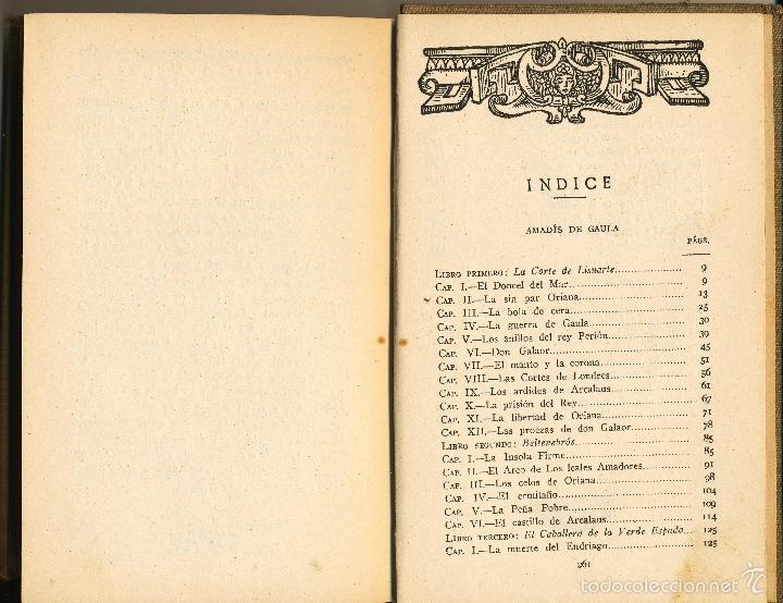 Libros antiguos: Libros de Caballerías, Sello del patronato de las misiones pedagógicas, Madrid, 1924 - Foto 2 - 58099825