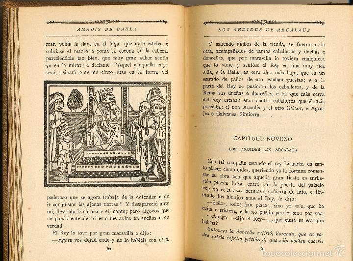 Libros antiguos: Libros de Caballerías, Sello del patronato de las misiones pedagógicas, Madrid, 1924 - Foto 3 - 58099825