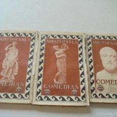 Libros antiguos: CLÁSICOS GRIEGOS, ARISTÓFANES, COMEDIAS-S/F.- PROMETEO.- VALENCIA. Lote 58338255