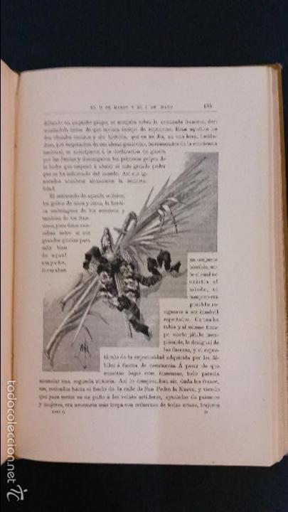 Libros antiguos: 1882 - BENITO PÉREZ GALDÓS - EPISODIOS NACIONALES TOMO II - ILUSTRACIONES DE MÉLIDA - Foto 5 - 58397824