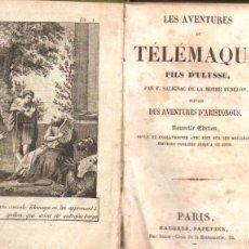 Libros antiguos: FENELON : LES AVENTURES DE TELEMAQUE (MAUGARS, PARIS, 1830) CON GRABADOS. Lote 58456741